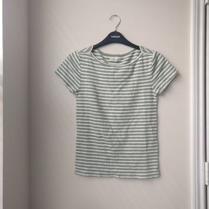 musical tee in roberta stripe